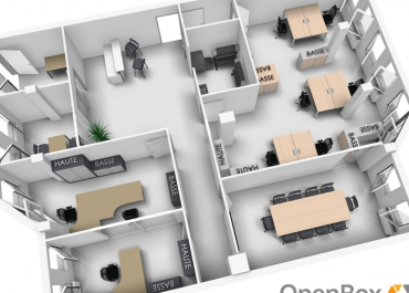 AG Buro - Agencement mobilier - Open Box - Space planner